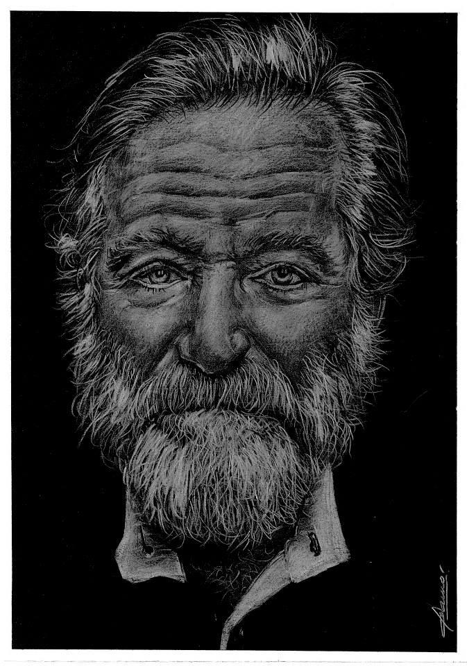 Robin Williams by Gamor